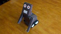 Robot bluetooth via smartphone