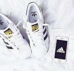 detailed look 536d9 082b0 adidas, shoes, and iphone image Adidas Superstar, Adidas Sneakers, Adidas  Men,