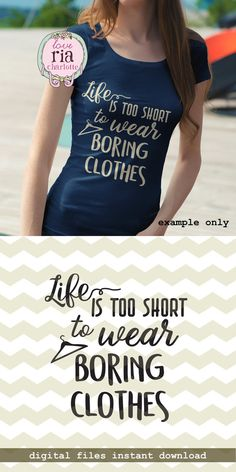Life is too short to wear boring clothes fun by LoveRiaCharlotte