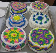 Cakes w/ Hmong design.  Sweeeet! in Hmong Art by Samson B