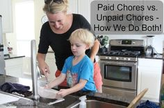 Paid Chores vs. Non-Paid Chores {Plus Our New Chore System for the Boys!} | 5DollarDinners.com