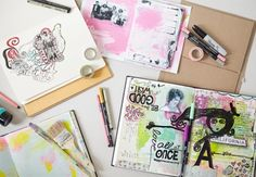 How to Make a Blank Art Journal - Creativebug