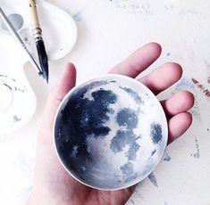 Diy moon bowl