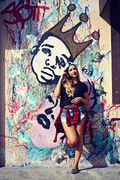 Notorious BIG graffiti - such a cool spot. #TimeToSee