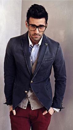 Dapper Male Fashion| Serafini Amelia| Casual Men's Fashion