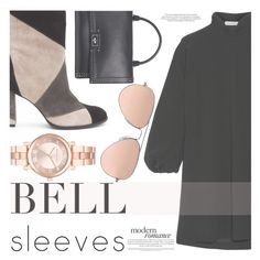 """""""Bell Sleeves"""" by aislinnhamilton1993 ❤ liked on Polyvore featuring Matisse, J.W. Anderson, Givenchy, Michael Kors, Ray-Ban and bellsleeves"""