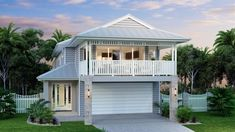 The first design we looked at. One of my favourite house designs - somehow both beachy and country! Hamilton 266 - Metro, Home Designs in Sydney - North (Brookvale) Hamptons Style Homes, Hamptons House, The Hamptons, Brisbane, Sydney, Hamilton, Home Design, Design Ideas, House Front