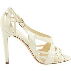 def833afc Women s Shoes - ShopStyle. Chanel White Patent leather ...