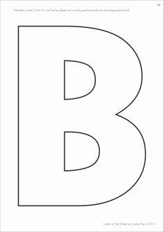 letter b template, letter tt template, letter aa template, letter ss template, letter pp template, block letter i template, on template for letter bb