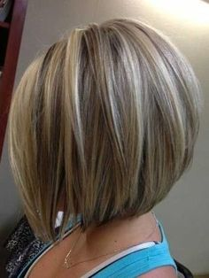 Short Blonde Bob Hairstyles by Je