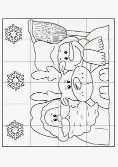 Arquivo dos álbuns Christmas Colors, Christmas Themes, Kids Christmas, Christmas Crafts, Free Coloring Pages, Coloring Sheets, Coloring Books, Christmas Worksheets, Fun Worksheets