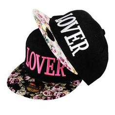 60a617987246a 2016 New Fabric Flowers LOVER Caps Women Fashion Three-dimensional  Embroidery Hip Hop Snapback Hats Summer Visor Sunhats. Gorras Planas Para  MujerGorras ...