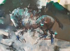 Equestrian Jade - original oil paintings for sale | StateoftheART