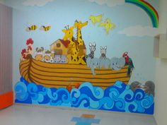 Pintura em parede para classe de criancas!!!!