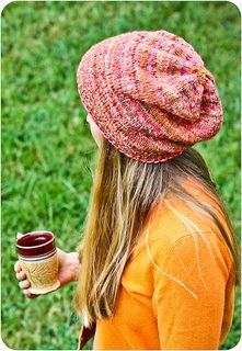Knit Night Hat - free pattern - worsted weight - US 8 (5mm) needles - one size adult