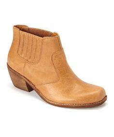Look at this #zulilyfind! Brown Panama Leather Bootie #zulilyfinds