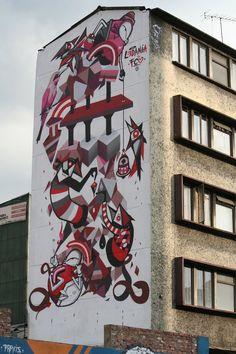 Art Project Colombia - FCO & Ledania #StreetArt