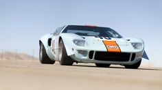 Ford GT40 - Gulf livery - As seen as McQueen's LeMans
