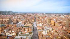 Bologna - Bologna - city center, view from Torre degli Asinelli.