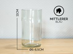 Gläser - MITTLERER / Ø 6-6,5CM / WEISS (Glas / Becher) - ein Designerstück von Glaeserne_Transparenz bei DaWanda