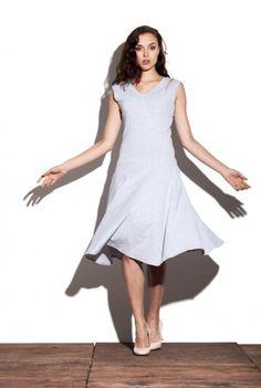 Sukienka z bawełnianej dzianiny - Lily Dress http://bozzolo.pl/kobieta/sukienki-dzianinowe-sklep-internetowy.html