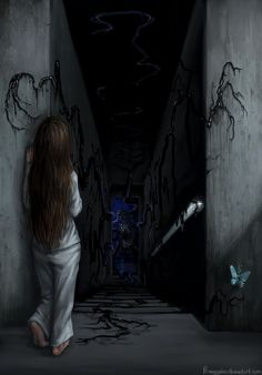 MAMA Scared Stiff Contest: Black Hole Monster by Penanggalan.devia… on - Art ideas Arte Horror, Horror Art, Image Triste, Creepy Drawings, Creepy Art, Creepy Images, Dark Photography, Monster Art, Dark Anime
