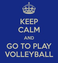 Volleyball is awesome I play rep volleyball