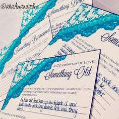 Something Old, Something New, Something Borrowed, Something Blue date night!