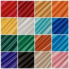 Satin Stoff Stoffe Meterware Deko Futter glänzend Blickdicht Dekostoff lfm NEU in Business & Industrie, Textilgewerbe & Schneiderei, Stoffe & Materialien | eBay