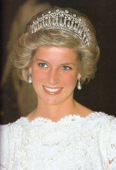 Untitled — November 10, 1985 Princess Diana attends a state...