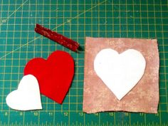 heart needle book basic tutorial in  flickr by Val Spiers Sews