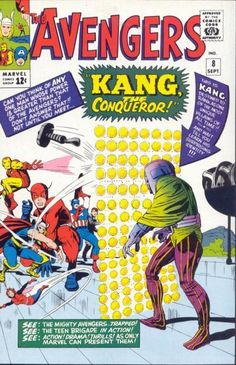 Avengers 8, the first appearance of Kang!