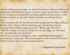 Daughter by Court Order by Ratna Vira Quotes Dussehra