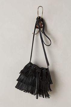 Fluttered Fringe Bucket Bag - anthropologie.com #anthrofave