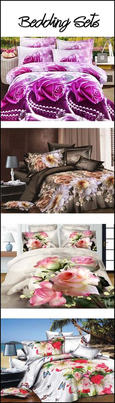 3D bedding sets have arrived in our online shopping center recently. And you are welcome to choose your favorite for your beloved families. 3D bedding collections and 3D comforter sets in Ericdress.com are also offered with different colors and patterns. We have been the professional bed sets seller online for several years. The good quality of our cheap 3D bedding sets has received lots of good reputation for our shop. So don't hesitate to choose one.