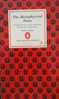The metaphysical poets  vintage penguin paperback book