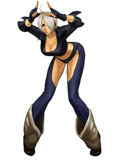 King of Fighters 2001 - Angel