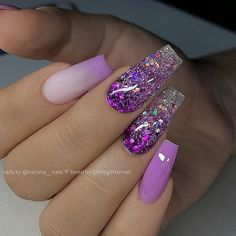 Techniques nail art Best Summer Nail Designs For 2019 Best Summer Nail Designs For 2019 - Nail Designs With Gel And Patterns Nail designs trend will let you conjure up beautiful patterns. For example, there is the drawing technique. Purple Acrylic Nails, Purple Nail Art, Summer Acrylic Nails, Best Acrylic Nails, Nail Summer, Dope Nail Designs, Purple Nail Designs, Cute Acrylic Nail Designs, Gorgeous Nails