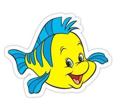 Cliparts e Gifs: Linguado / Flounder Little Mermaid Clipart, Little Mermaid Birthday, Little Mermaid Parties, Disney Little Mermaids, Ariel The Little Mermaid, Images Ariel, Images Disney, Disney Art, Mermaid Images