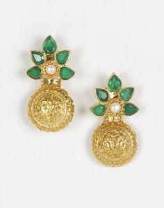 Silver Anusuya ES 1298 Earrings