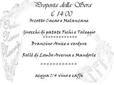 #menupromozionale #bassocosto #cenaleggera #prodottiselezionati #food #slowfood #brescia #osteria