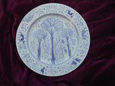 Damaschino plate (recreation) by Amata