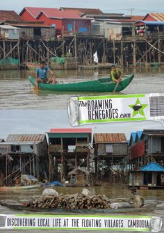 Visiting the impressive floating village of Kompong Phluk on Tonle Sap near Siem Reap. An authentic look at local life in Cambodia on the lakes near Kampong Khleang, Chong Kneas and Angkor Wat >   http://theroamingrenegades.com/2017/02/siem-reap-floating-village-kampong-khleang-cambodia.html  #Cambodia #SiemReap #FloatingVillage #LocalTravel #Offthe beatentrack #travel #southeastasia #asia #backpacking #adventure #worldtrip