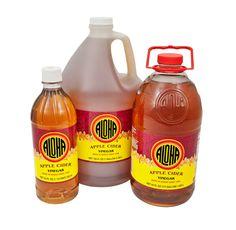 Aloha Shoyu: Apple Cider Vinegar (24 oz, half gallon, gallon)