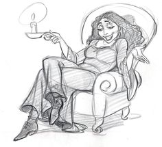 "Mother Gothel in ""Tangled"""