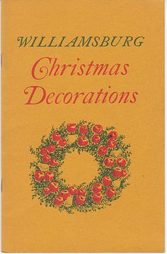 1000 Images About Williamsburg Christmas Decorations On