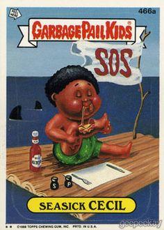 d0627b50b GEEPEEKAY.com - Original Series 12 Gallery Garbage Pail Kids Cards, 80s Kids ,