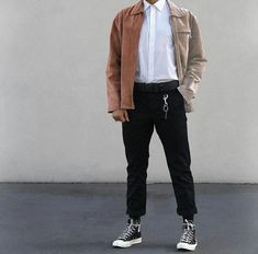 The shirt with the cool jacket and trousers and converse works so well #AfricanFashion
