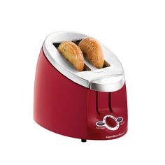 Red Bagel Toaster. Love it!