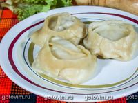 Манты с бараниной Lamb Recipes, Chinese Food, Potato Salad, Soup, Chicken, Ethnic Recipes, Easy Meals, Chinese Cuisine, Soup Appetizers
